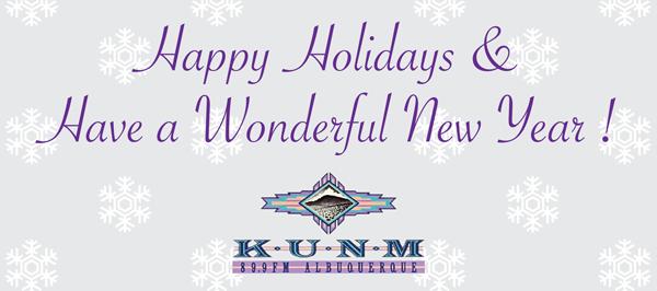 Happy new year from KUNM